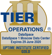 TIER III Operations Sustainability Gold